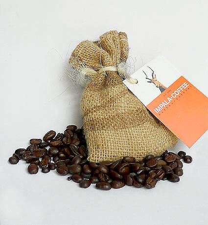 Give-Away für die Kaffeerösterei Impala